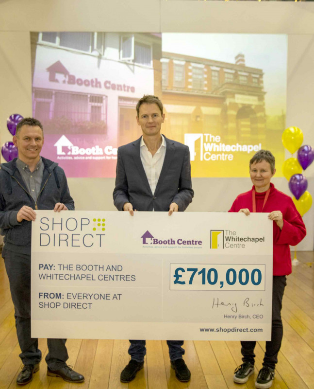 £710,000 raised for our partner charities